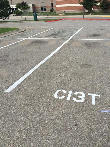 Ci3T Parking Spot