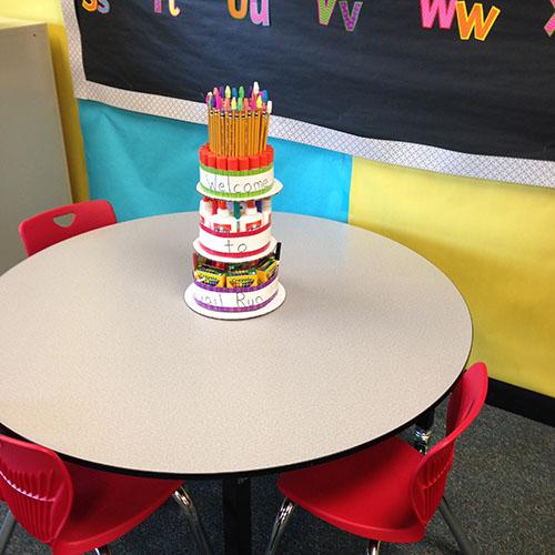 School Supply Tower