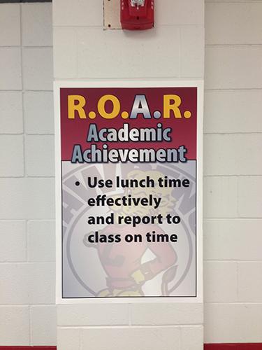 Roar Academic Achievement Examples