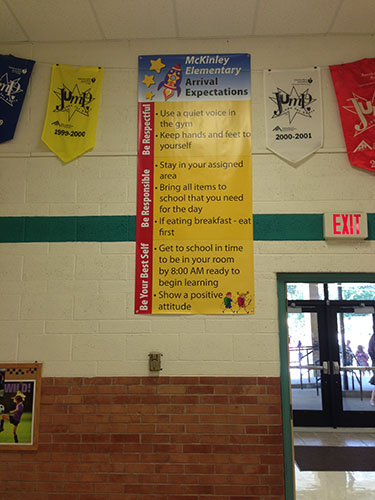 McKinley Elementary Arrival Expectations