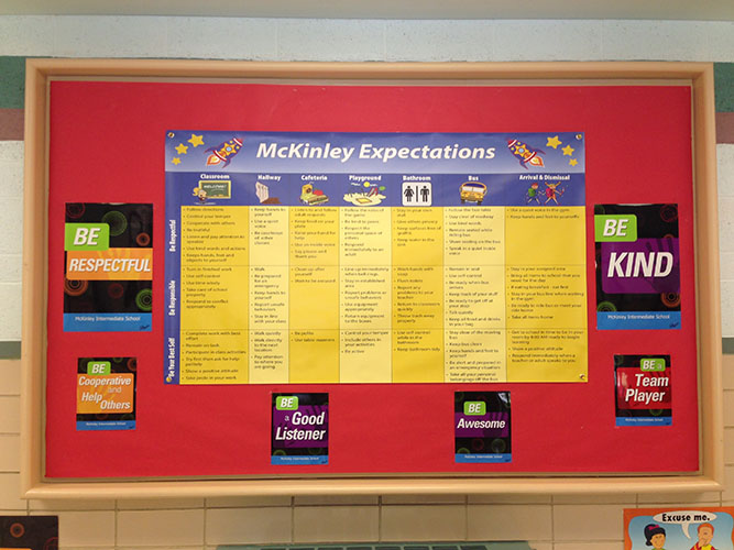 McKinley Expectation Matrix