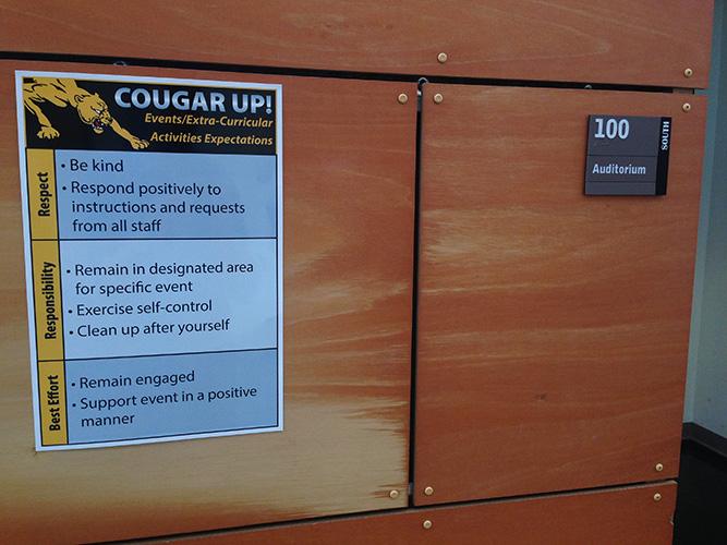 Cougar Expectation Matrix