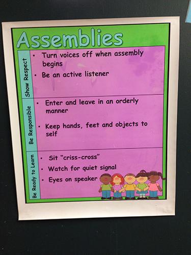 Assemblies Expectations
