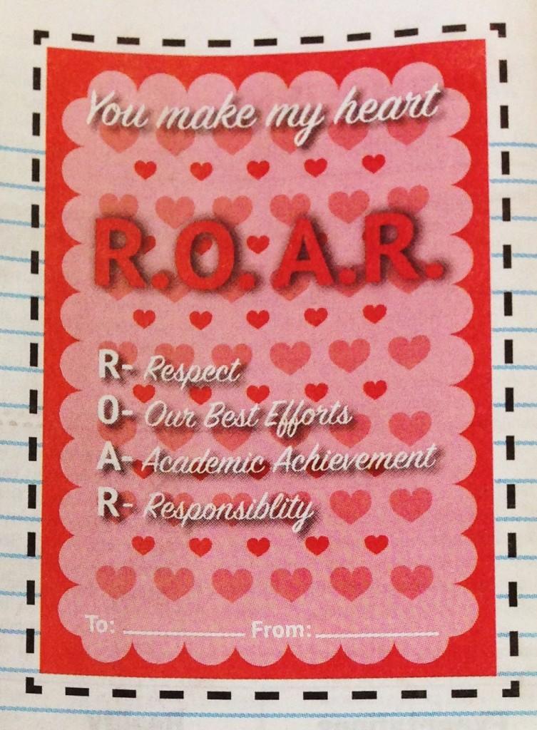 ROAR Valentines