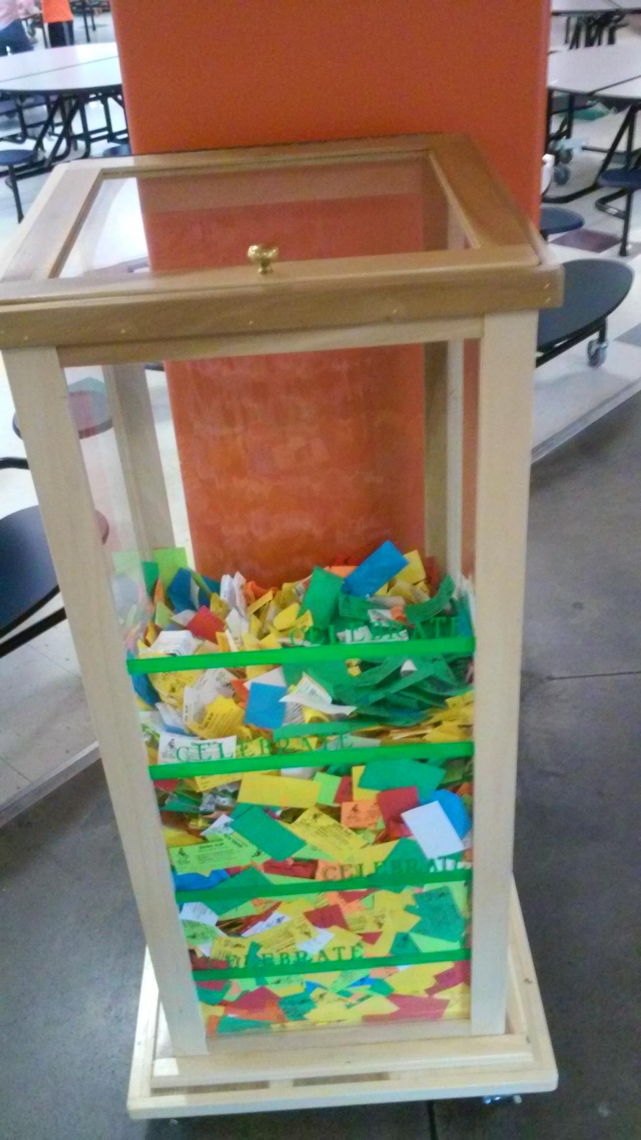 Elemetnary school ticket tower