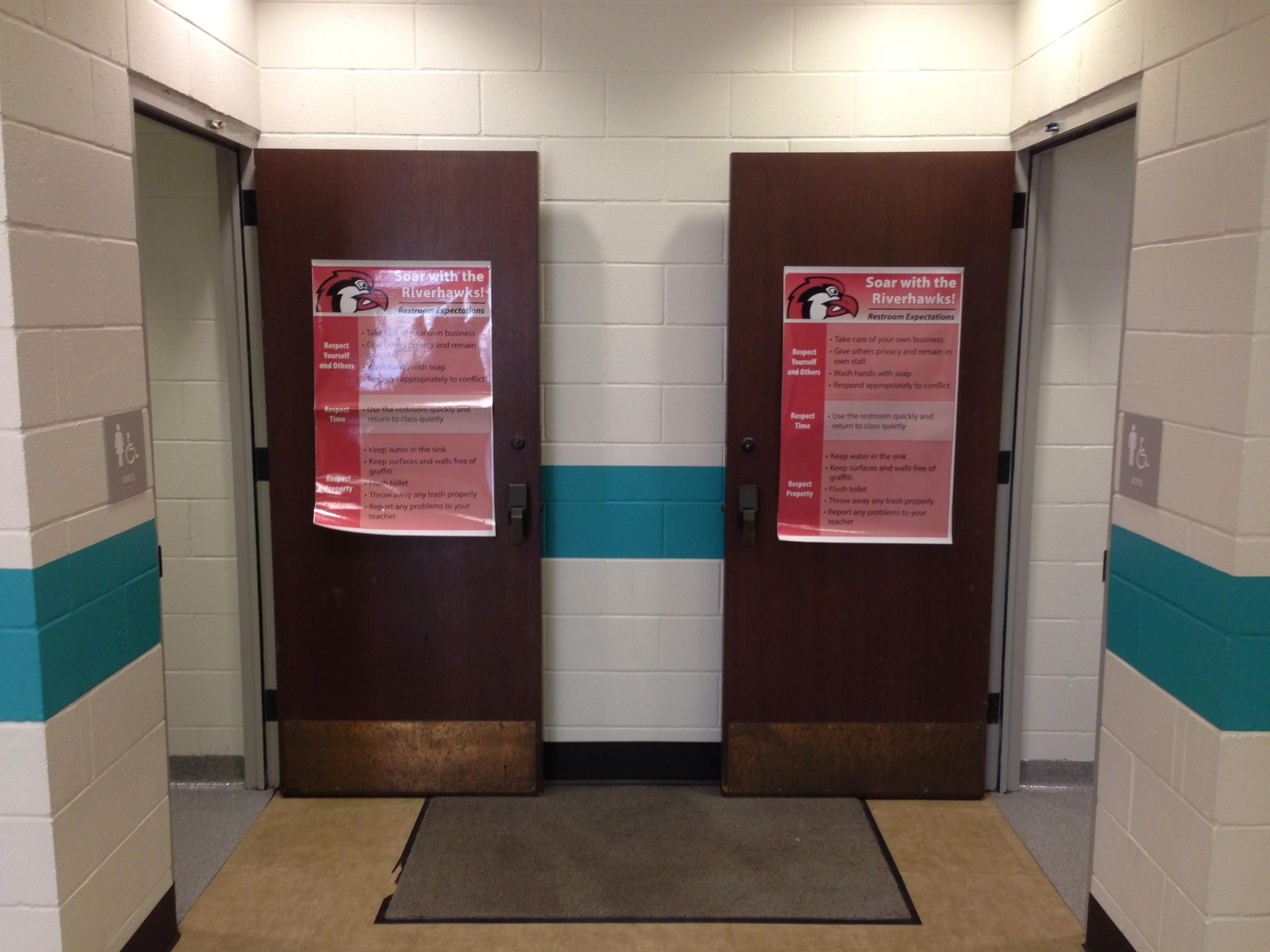 Riverhawk Bathroom Expectations